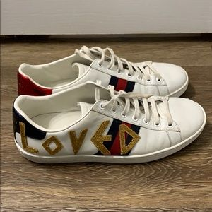 Gucci Ace Loved Sneakers Size 39
